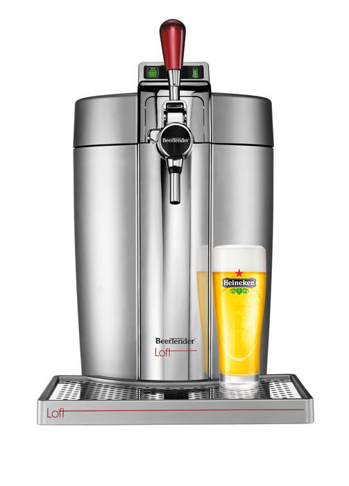 BEERTENDER®  LOFT EDITION silver / chrome