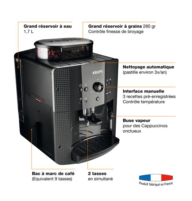 XS900010 NETTOYANT BUSE CAPPUCCINO PAR 2 POUR PETIT ELECTROMENAGER KRUPS